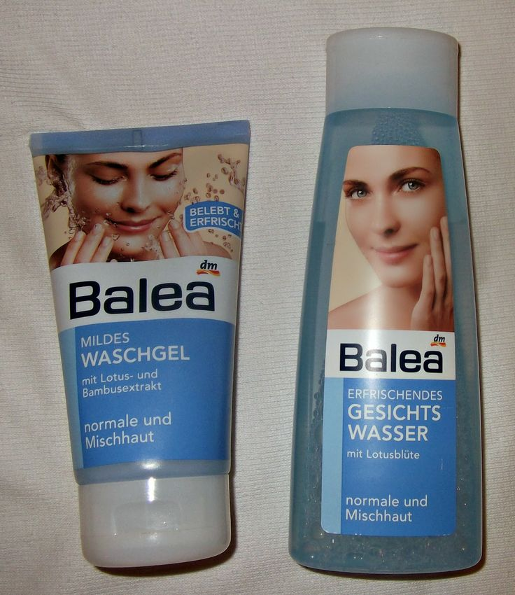 Beauty by S: Balea tonik za lice i Balea gel za umivanje za nor...