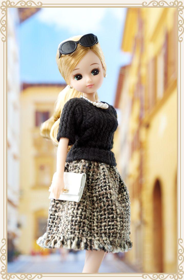 Black chocolate dress style - LiccA|リカちゃん|タカラトミー