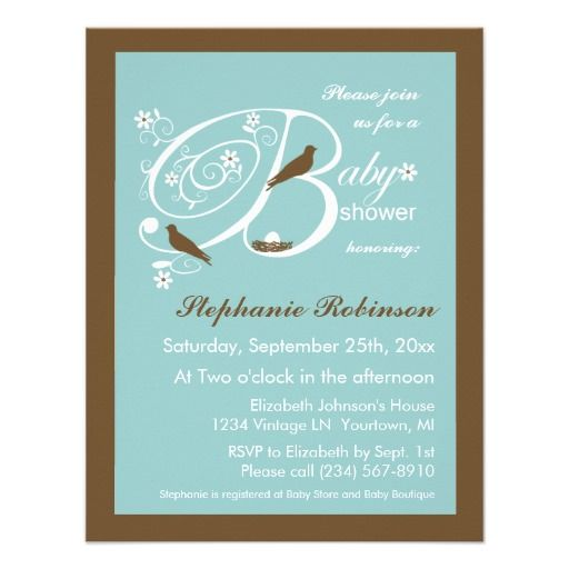 tiffany blue baby shower invitations on pinterest twin baby showers