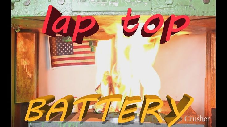 Lap Top Battery Vs Hydraulic Press