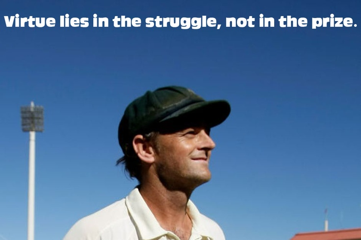 Quotes by Skipper Adam Gilchrist