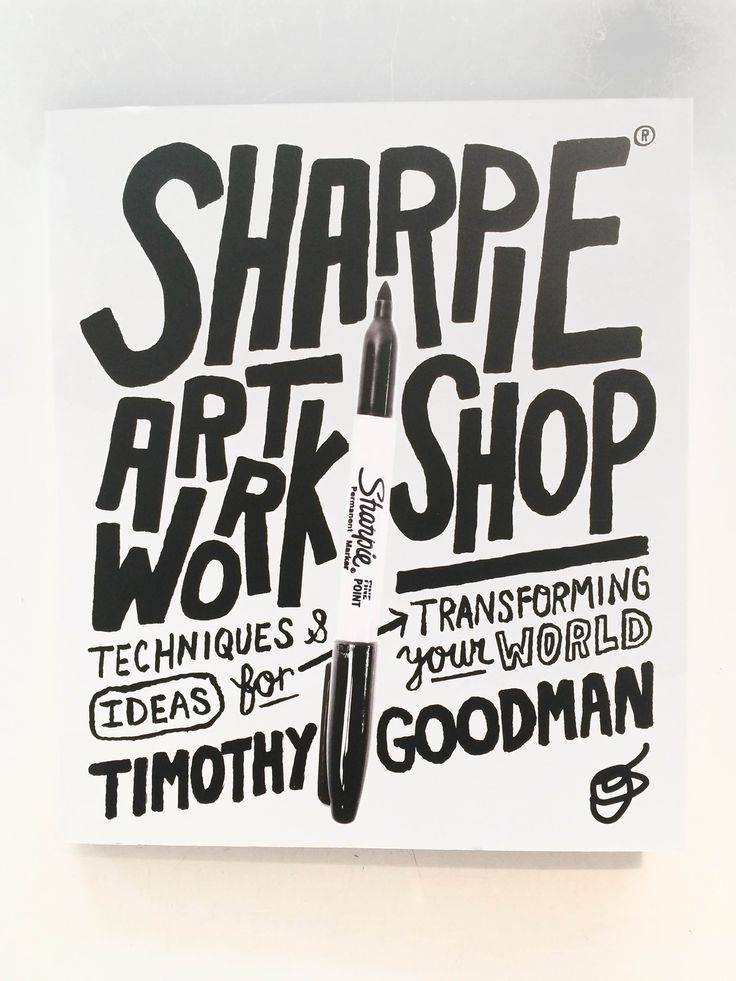 Learn all about the art of sharpies // Sharpie Art workshop // Timothy Goodman