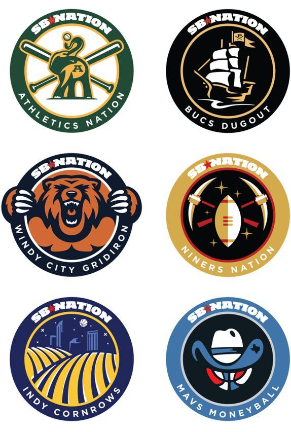 seal research. SB Nation LogosBadges Logo, Blog National, 300 Logo, Sports Logo Design, Logo Inspiration, Awesome Projects, Logo Redesign, Sports Blog, Sports Logos