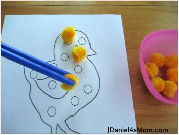 JDaniel4s Mom: Easter Chick- Read.Explore.Learn. #earlylearning #easter