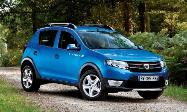 Dacia Sandero Stepway - Logan hatch  with 4X4 style
