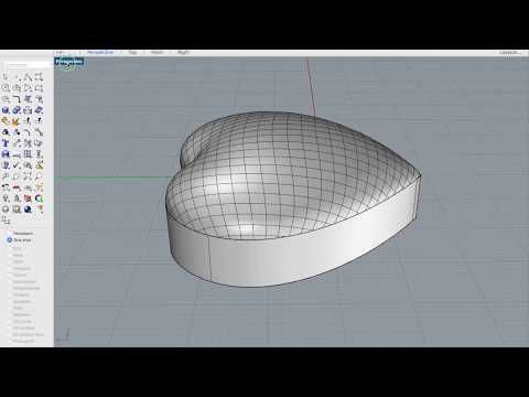 Rhino Tips and Tricks  How to make a Dome Heart with Patch