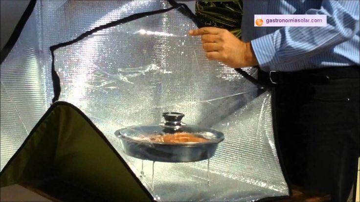 Cocina solar portatil - Pez espada slow food