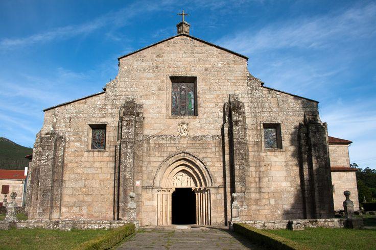 Iglesia de Santa María de Iria Flavia, Camino Portugués