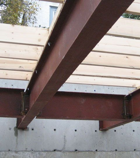 Structure Steel To Concr 171 Home Building In Vancouver In