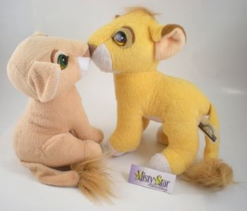 I had these! Kissing Simba and Nala!