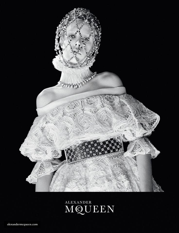 Эди Кэмпбелл стала лицом новой рекламной кампании Alexander McQueen (F/W 2013-14) #brandintrend