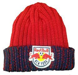 NY Red Bulls Beanie Knit Hat
