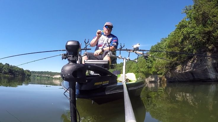 Crappie fishing video. Brad Wiegmann Media