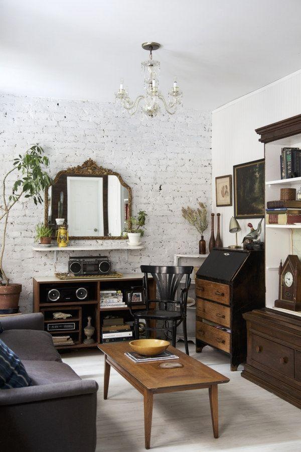10 Awesome Industrial Vintage Decor Designs For A Brick Steel Home Vintage Industrial Desig Interior De Design Sala De Estar De Casa Ideias Para Interiores
