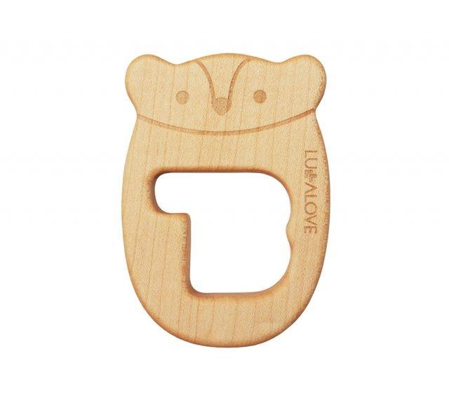 Drewniany gryzak MRB | Maple wood eco friendly teether  #lullalove #teether #wood #eco-friendly #maplewood #mrb #supertoy #babyshower #gift
