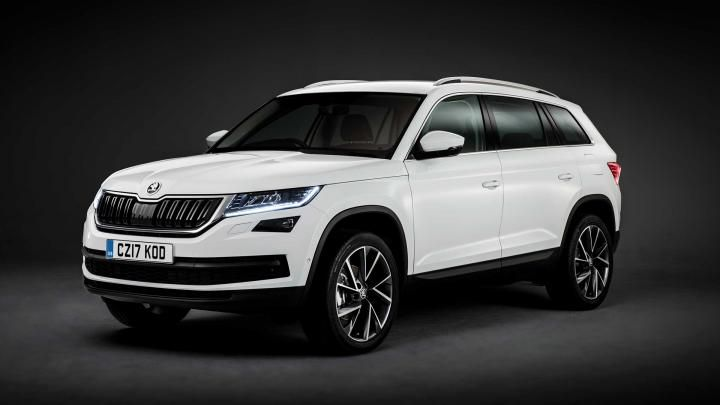The Skoda Kodiaq is the brand's first large SUV, with up to seven seats and a 630-litre boot