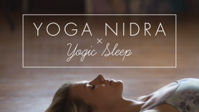 Relax with this guided yoga nidra (yogic sleep) practice that allows the body to deeply restore itself.