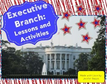 Spark your students' interest in the executive branch with this product! This packet includes lessons, primary source passages, a chance to get involved in the executive branch, and a four corners review activity.