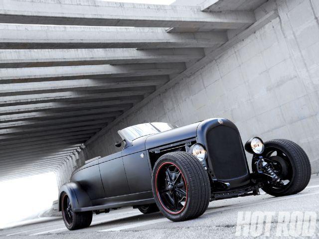 Almir Rocha 1928 Chrysler Model 72 Roadster - Black Brazilian - Hot Rods