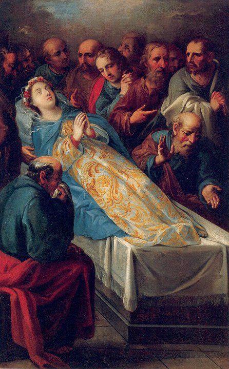 El Fiat Divino para consolar a los apóstoles y a Mí también, permitió casi en modo prodigioso que todos los apóstoles, excepto uno, me hicieran corona en el momento en que estaba por partir al Cielo