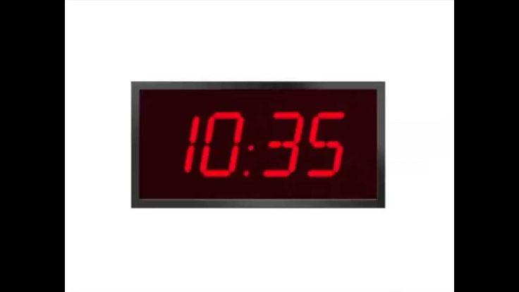 Tijd 2 --  Klokkijken, digitale klok