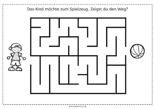 einfachere labyrinthe labyrinthe wahrnehmung r umliche orientierung visuelle wahrnehmung. Black Bedroom Furniture Sets. Home Design Ideas