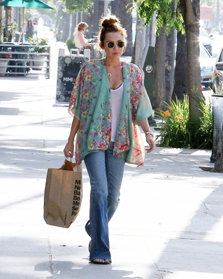 m: Outfit, Shirt, Floral Top