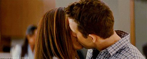 The Proposal The relationship may be fake at this point, but it's where Margaret (Sandra Bullock) and Andrew (Ryan Reynolds) feel their first real sparks.
