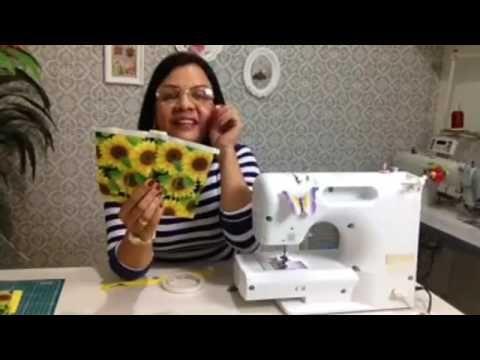 Projeto Aprenda fazendo comigo # 01 Bolsa fácil para o dia das mães - YouTube