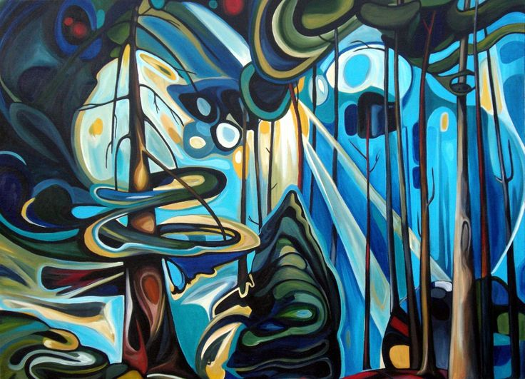 Emily Carr my Canadian favourite! This is more abstract than some of her other stuff.