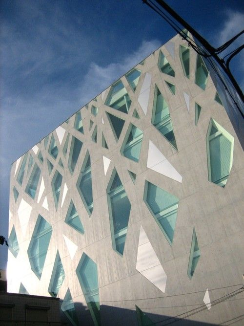 TOD'S Omotesando Building by Toyo Ito (via toyo-ito.co.jp)