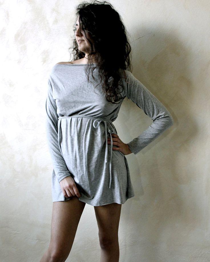 Tunic dress Mini dress Yoga clothes Long sleeve top by LoreTree, €48.00