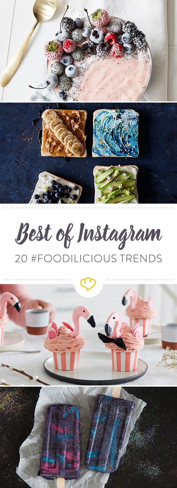 Avocadorose, Flamingo-Cupcakes und Sushi-Burrito: Unsere 20 liebsten Food-Trends, die es ohne Instagram vielleicht nicht geben würde.