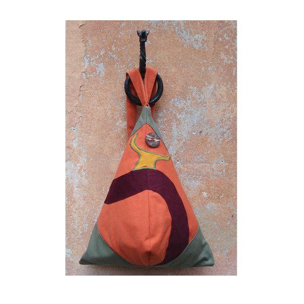 Dancing backpack! Handmade in Italy by StrofediStoffa su Etsy