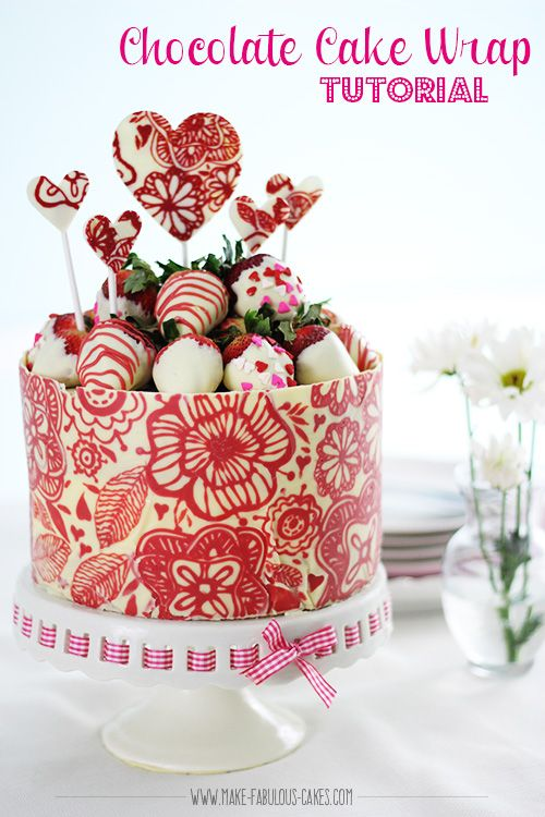 Image Result For Cake Chocolate Collar Temper