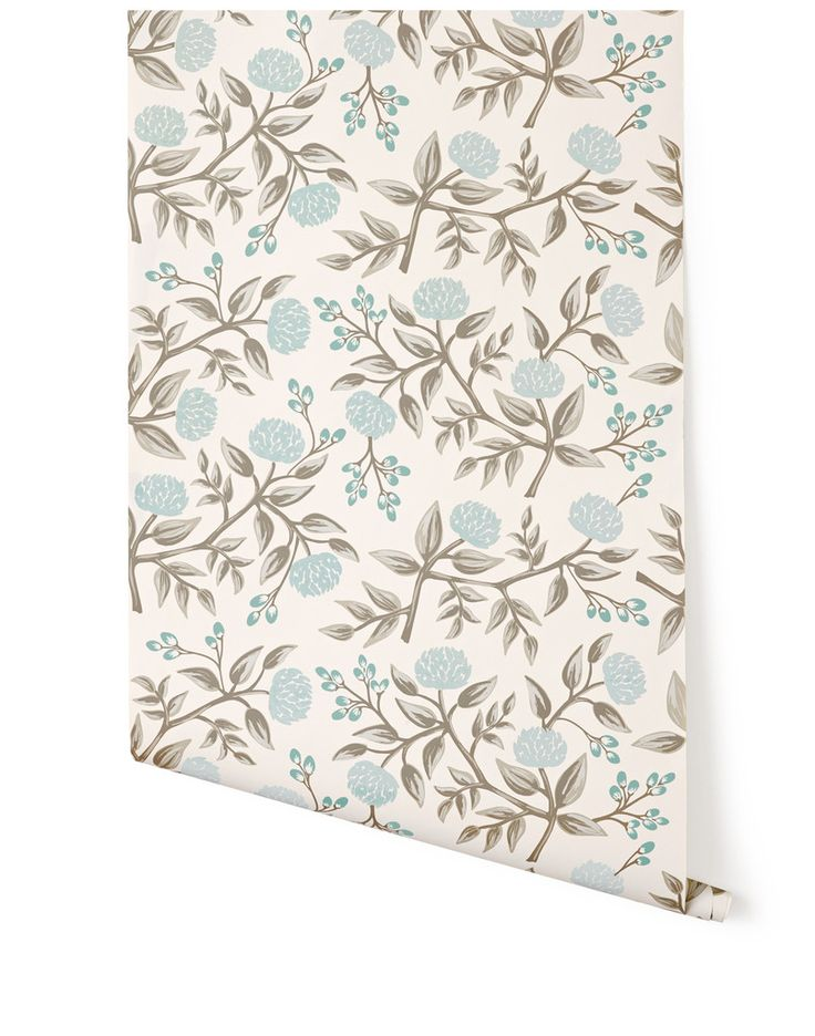 Peonies (Pale Blue) – Hygge & West - would be perfect to decoupage a dresser!