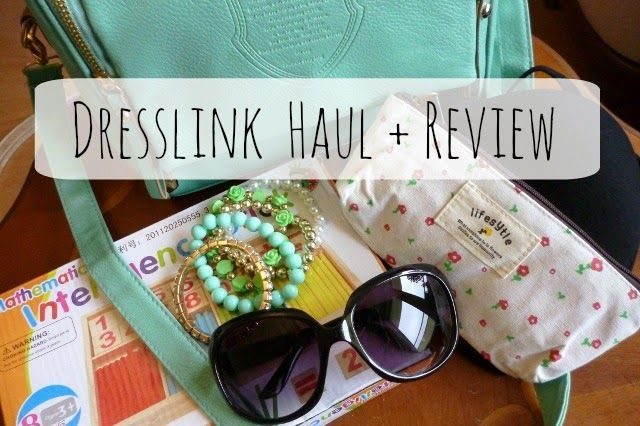 Testowanie produktów  * recenzje * konkursy * DIY: kosmetyki naturalne: Dresslink Haul + Review.