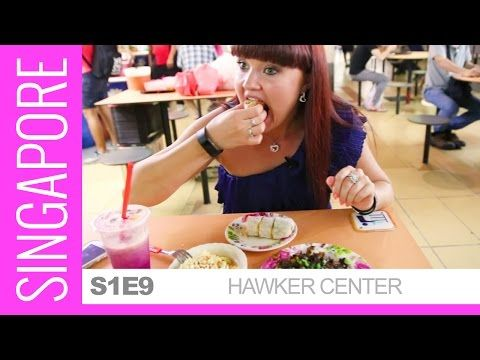 Incredible SINGAPORE HAWKER CENTRE - Old Airport Road Food Centre | Food and Travel Channel | - YouTube