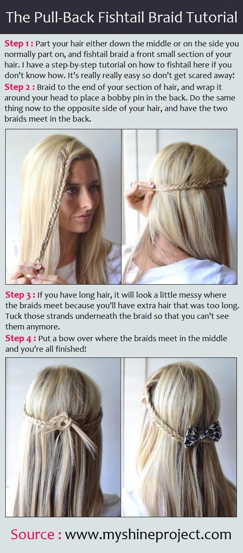 Pleasing 25 Best Ideas About Pull Back Bangs On Pinterest Braids For Short Hairstyles For Black Women Fulllsitofus