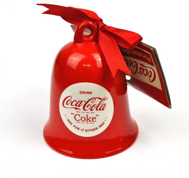 Coca-Cola Coca Cola USA Ceramica Campane di natale Campana Waheed | eBay