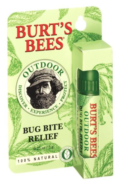 BURT'S BEES BUG BITE RELIEF Soothing Balm Treats STINGS & Insect BITES Analgesic | eBay