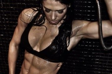 Bella-Falconi-Abs-Model work out plan.