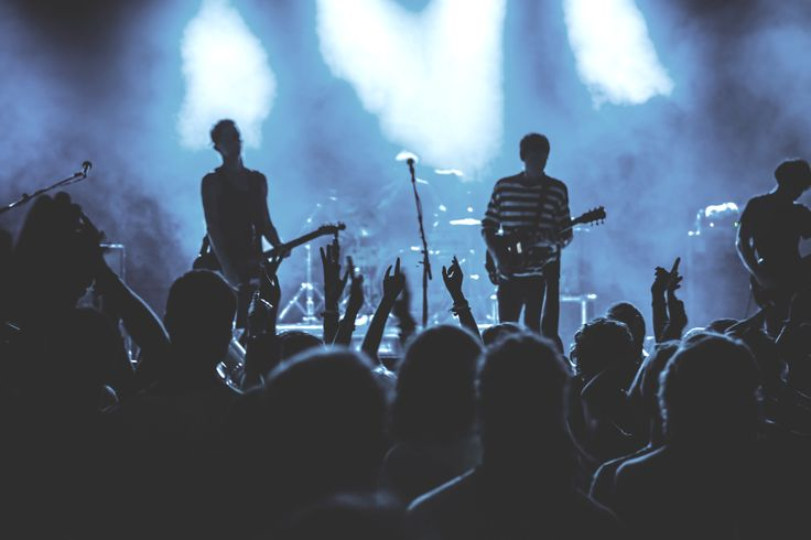 See your favourite band in the world - live in concert