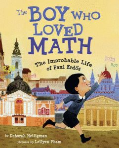 Fun book that brings to life how one boy who loved math was able to spend his life exploring math concepts.  Includes some historical references as well.