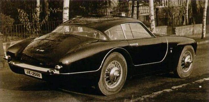 Tatra JK 2500, the Ferrari from Czechia, 1956