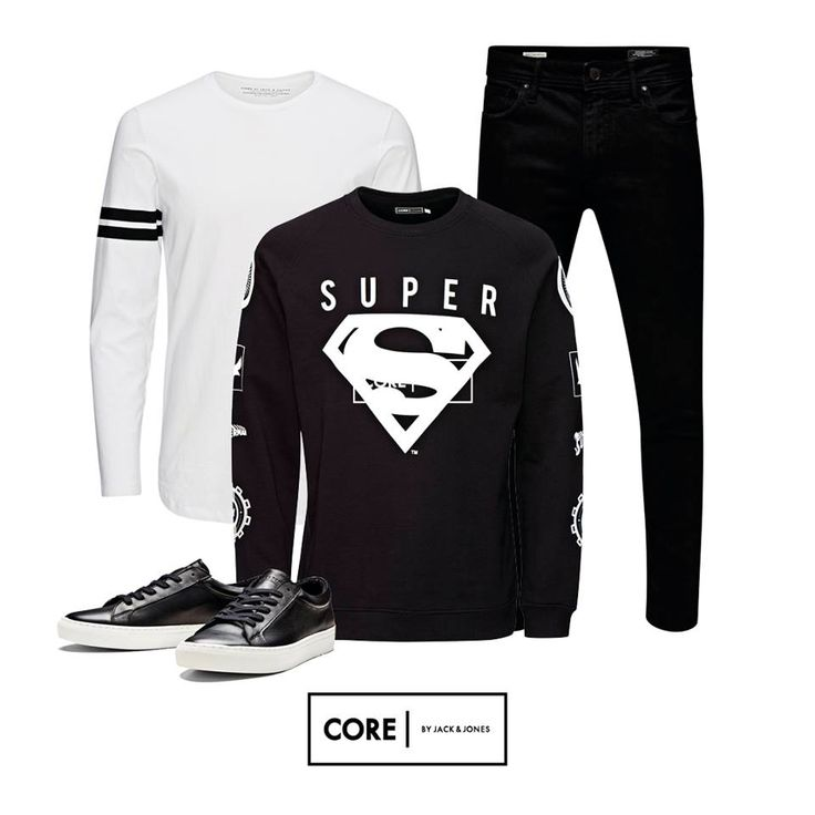 Superman swag in a monochrome way!