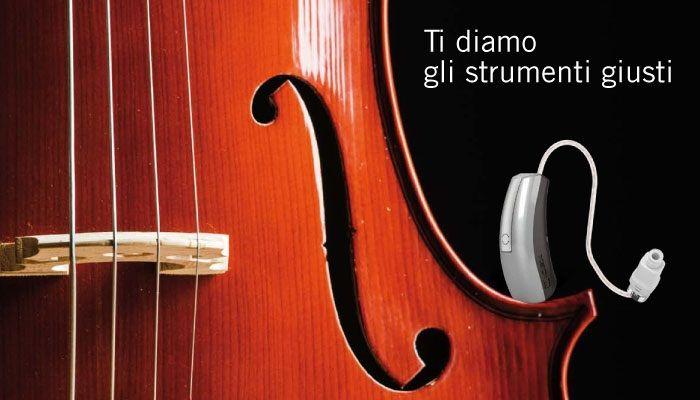 """""""Ti diamo gli strumenti giusti"""" è la campagna ADV realizzata da #iVisionMade per l'Istituto Acustico Pontoni. #adv #creativity #listen #advertising #poster"""