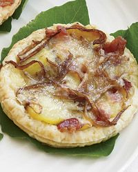 Reblochon Tarts with Bacon and Fingerling Potatoes | Recipe