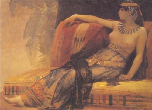 Cleopatra, preparatory study for 'Cleopatra Testing Poisons on the Condemned Prisoners'  - Alexandre Cabanel