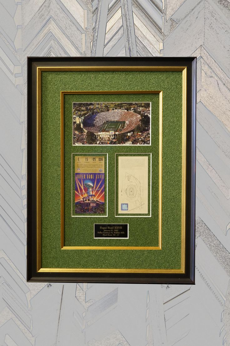 33 best picture worth custom framing images on pinterest custom you had fun at the super bowl so have fun remembering it this customer jeuxipadfo Image collections